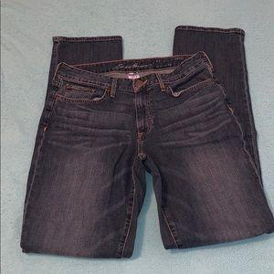 Eddie Bauer curvy fit,  straight leg jeans size 8